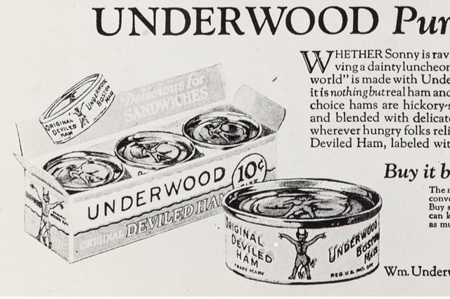 Vintage Underwood ad