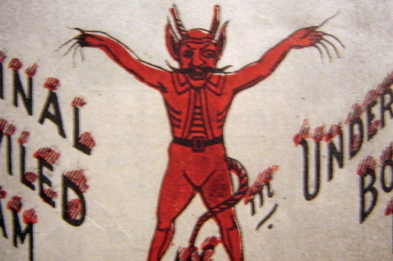 Original Underwood Devil logo